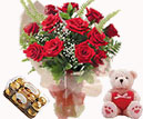 Combo gifts to chennai includes Chocolates,Teddy bear,Sweets,Flowers,Cakes for Chennai delivery.