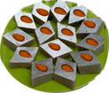 Send Badam barfi, Kaju Barfi sweets from the best sweets shop in Chennai.