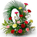 Send New Year Gifts with Designer Flower Basket
