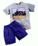 Kids Gift with Blue pant and White pull over combination Cotton dress up to 9yrs to Chennai Delivery