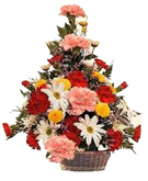 Mixed Flowers Basket to Chennai Delivery