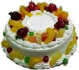 Fresh Fruit Cake 1Kg. From 5Star Bakery on Father Day