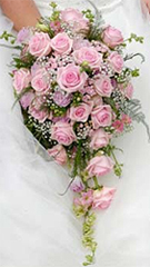 Send Pink Bridal flower arrangement to Chennai.