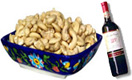 Send New Year Gifts with 1kg Roasted Cashewnut with Redwine