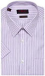 Send birthday gifts with Zodiac Mens Formal Shirt Half Sleeves Striped Shirt to Chennai delivery