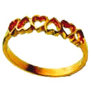 Jewellery Gift with 22-K-Gold-Ring to Chennai Delivery