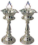 Send New Year Gifts with 2Nos. Silver Diya 23.5Gms 1799