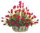 Thank you with Basket of 50 Roses to Chennai Delivery