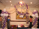 Balloon Decoration withSmall Hall as per the picture to Chennai Delivery
