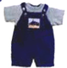New born Gifts with Blue and White combination Cotton dress up to 4yrs to Chennai Delivery