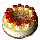 Pongal Gift with 1 Kg    [2.2Lb]  Pineapple Cake from Taj / 5Star Bakery to Chennai Delivery