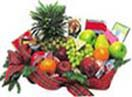 Fruit Basket with Chocolate,Chips,Cheese,Wafer,  Biscuits : gross weight 6Kgs to Chennai Delivery