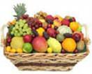 Exotic Fruit Basket content: Green, Black grapes, Kiwi fruits, Washington/Fuji apple, Imported pear, Oranges etc.: 5Kgs to Chennai Delivery