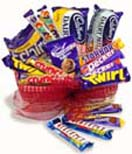 Gift Baskets with Variety of Cadburys Chocolate to Chennai Delivery