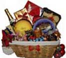 Gift Baskets with RedWine,Danish Cookies Box,Celebration Chocolate Box ,Salted Pistachio ,Cashew Nuts, Pringle Chips, Cheese to Chennai Delivery