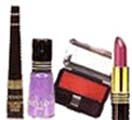 Cosmetic Gift With Lipstick, Nail Polish, Blusher, Eyeliner from Revlon to Chennai Delivery
