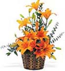 Wedding Gifts with Lilies Arrangement to Chennai Delivery