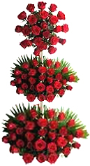 Send Exotic Red Rose Arrangement for Chennai delivery