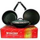Wedding Gifts with Non Stick Cookware 3 Piece Gift Set from Nirlep to Chennai Delivery