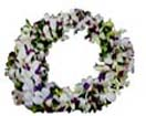 Big wreath with white Orchids for Condolence to Chennai Delivery