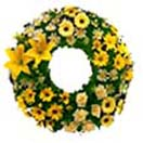 Mixed Big Flower Wreath for Condolence to Chennai Delivery