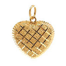 Jewellery Gift with Heart Shaped Gold Pendant to Chennai Delivery