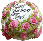 Send Cakes with 1Kg Decorative Birthday Cake for Chennai Delivery.