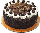 Id Ul Fitri with ChocolateNut Cake1kg[2.2Lb] to Chennai Delivery