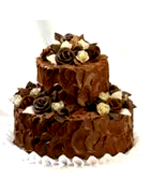 Valentines Day Gift with Two Tier Soft Chocolate Cake to Chennai Delivery
