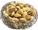 500Gms. Pistachio Dry Fruits in a Glass Bowl to Chennai Delivery