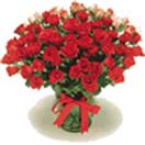 50 Red Roses Flowers Bouquet to Chennai Delivery