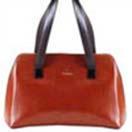Leather Gifts with Fashionable Ladies Handbag- Tan Colour to Chennai Delivery
