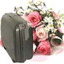 Corporate Gifts with Suitcase and Flowers to Chennai Delivery