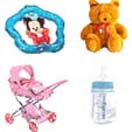 New born Gifts includes: Trolly, Teddy, Teether, Water Bottle to Chennai Delivery