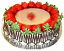 1 Kg Strawberry Cake from Taj / 5Star Bakery to Chennai Delivery