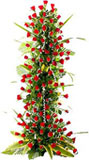 Tall Red Rose Flowers Arrangement to Chennai delivery