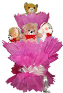 Valentine Gifts to Chennai with Teddy Bouquet