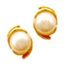 Jewelry Gift with 22-K-Gold-Earring in Pearl to Chennai Delivery