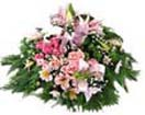 Designer Flat wreath with Exotic Flowers for Condolence to Chennai Delivery